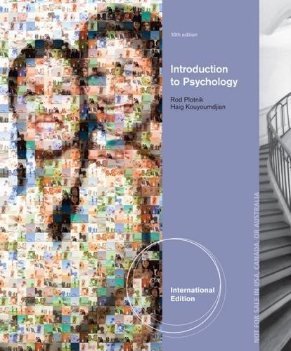 9781285061306: Introduction to Psychology