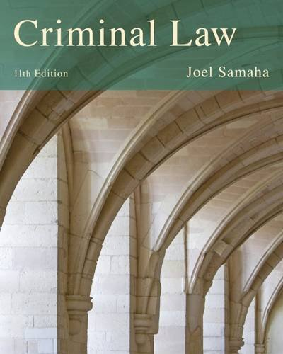 9781285062228: Cengage Advantage Books: Criminal Law