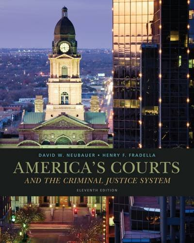 9781285062235: Cengage Advantage Books: America's Courts and the Criminal Justice System