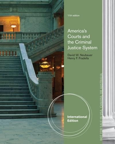 9781285062242: America's Courts and the Criminal Justice System, International Edition