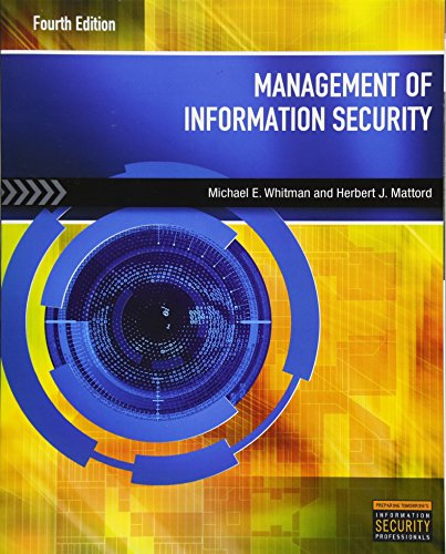 9781285062297: Management of Information Security