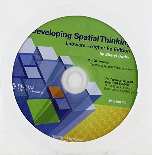 9781285062587: Developing Spatial Thinking Labware on CD, Higher Education Edition
