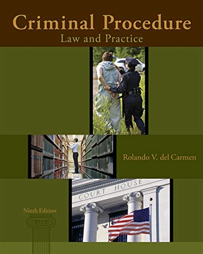 9781285062891: Criminal Procedure: Law and Practice
