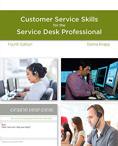 9781285063584: A Guide to Customer Service Skills for the Service Desk Professional