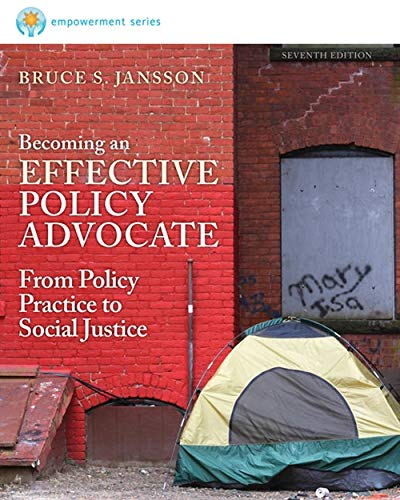 Brooks/Cole Empowerment Series: Becoming an Effective Policy Advocate: Jansson, Bruce S.