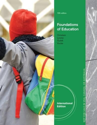 9781285064321: Foundations of Education