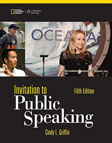 9781285066141: Invitation to Public Speaking - National Geographic Edition