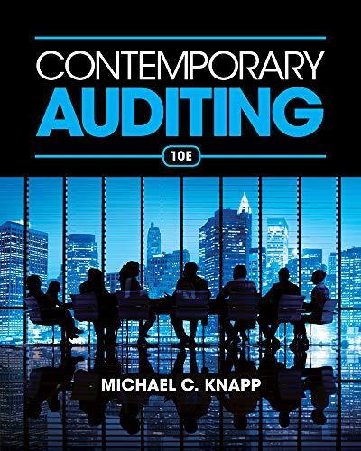 Contemporary Auditing: Knapp, Michael C.