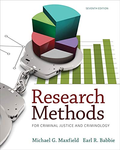9781285067841: Research Methods for Criminal Justice and Criminology