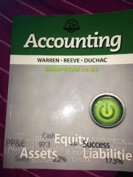 Financial Accounting 13e Chapters 1-13 (Accounting 25e): Warren/Reeve/Duchac