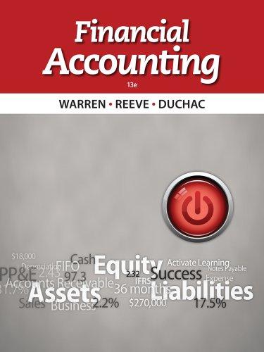 9781285069647: Financial Accounting