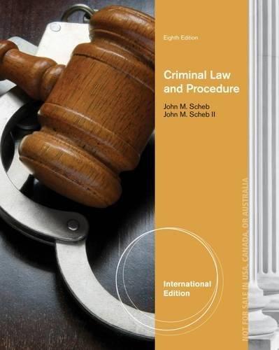 9781285070131: Criminal Law and Procedure