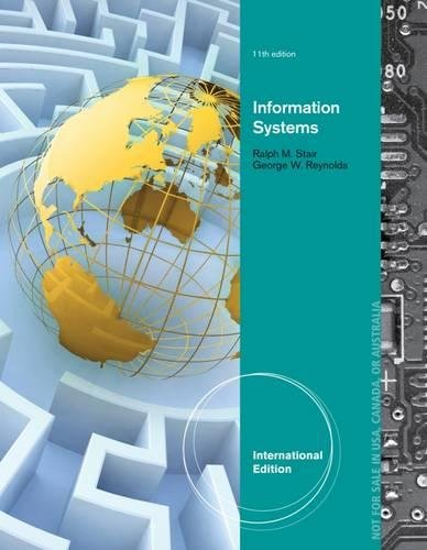 9781285072241: Principles of Information Systems, International Edition