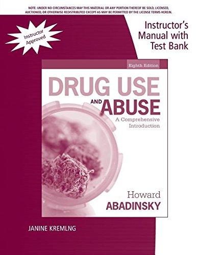 9781285072838: Im Tb Drug Use Abuse