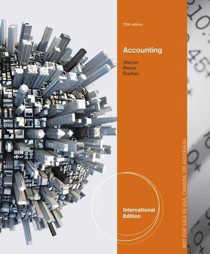 9781285073071: Accounting, International Edition