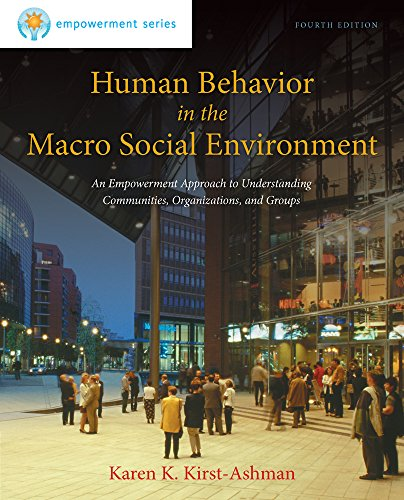 9781285075495: Human Behavior in the Macro Social Environment, 4th Edition
