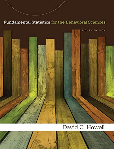 9781285076911: Fundamental Statistics for the Behavioral Sciences