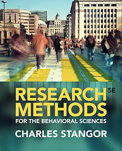 9781285077024: Research Methods for the Behavioral Sciences