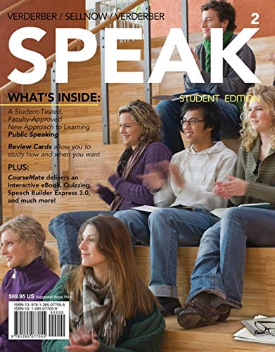 9781285077055: SPEAK (with CourseMate with InfoTrac, 1 term (6 months) Printed Access Card) (New, Engaging Titles from 4LTR Press)