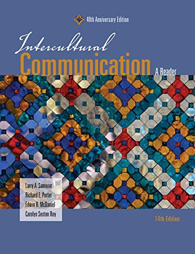 Intercultural Communication: A Reader: Roy, Carolyn S.,