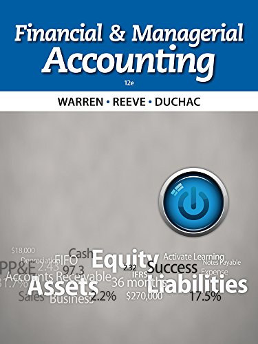 9781285078571: Financial & Managerial Accounting