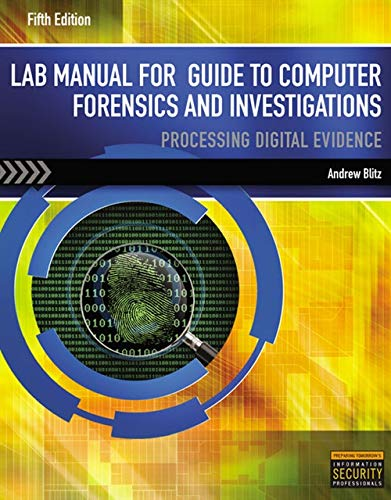 9781285079080: LM Guide to Computer Forensics & Investigations - Lab Manual