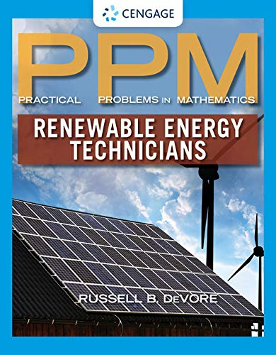 9781285079332: Practical Problems in Mathematics for Renewable Energy Technicians