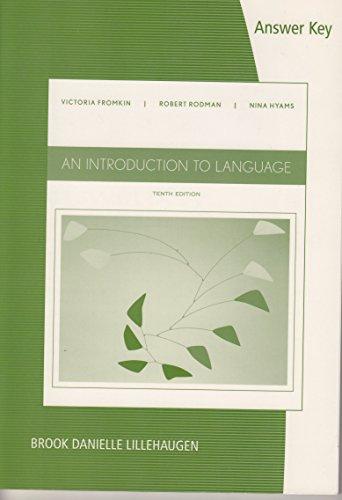 9781285079783: AK Introduction to Language