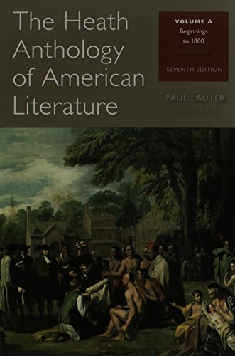 9781285080086: The Heath Anthology of American Literature: Volume A and Volume B