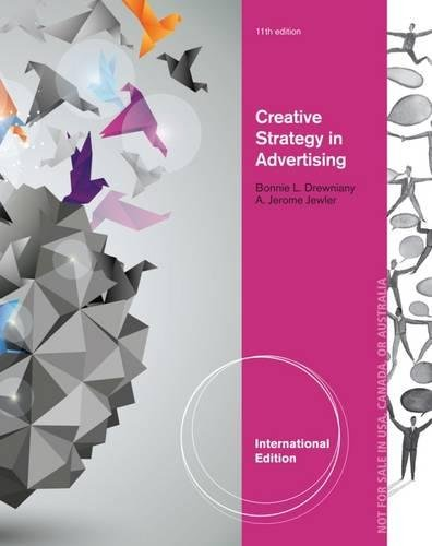 9781285080277: Creative Strategy in Advertising