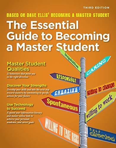 9781285080994: Becoming a Master Student: The Essential Guide to Becoming a Master Student (Textbook-specific CSFI)