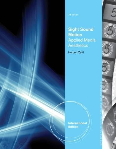 9781285081236: Sight, Sound, Motion: Applied Media Aesthetics
