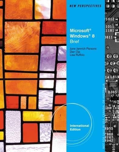 9781285081625: New Perspectives on Microsoft (R) Windows 8, Brief International Edition