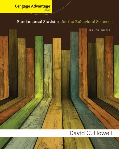 Cengage Advantage Books: Fundamental Statistics for the: Howell, David C.