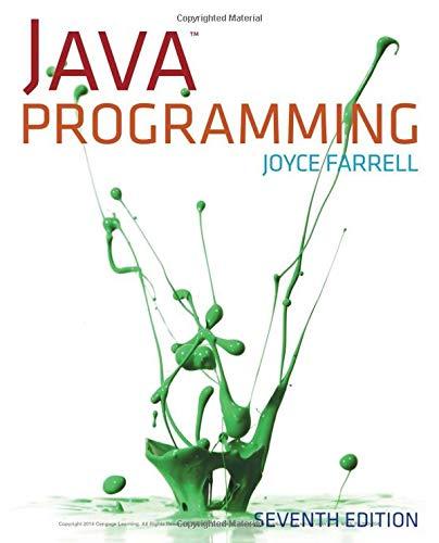 9781285081953: Java Programming, 7th Edition