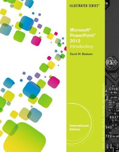 9781285082677: Microsoft PowerPoint 2013: Illustrated Introductory