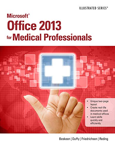 9781285083902: Microsoft Office 2013 for Medical Professionals Illustrated