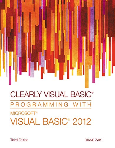 9781285084107: Clearly Visual Basic: Programming with Microsoft Visual Basic 2012