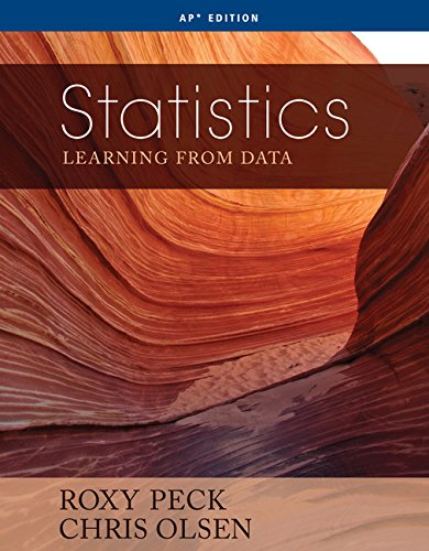 Statistics: Learning From Data: Roxy Peck, Chris