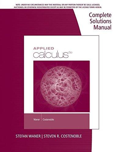 9781285085531: CSM Applied Calculus