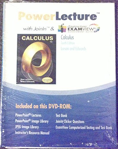 9781285085838: PowerLecture Calculus With Ev Joinin & eInsturctions