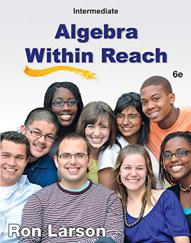 9781285087412: Intermediate Algebra Within Reach, 6th Edition