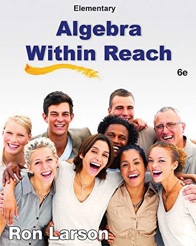 9781285087474: Elementary Algebra: Algebra Within Reach