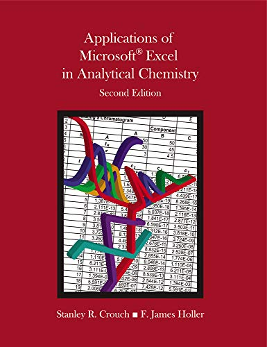 9781285087955: Applications of Microsoft Excel in Analytical Chemistry