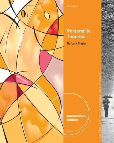 9781285088860: Personality Theories (International Edition)