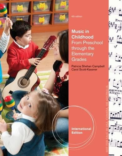 9781285089379: Music in Childhood: From Preschool Through the Elementary Grades