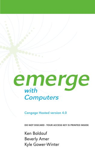 9781285090320: Cengage-Hosted Emerge with Computers 4.0 Printed Access Card
