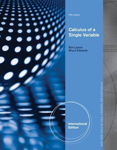9781285091105: Calculus of a Single Variable