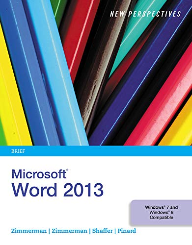 9781285091174: New Perspectives on Microsoft Word 2013, Brief