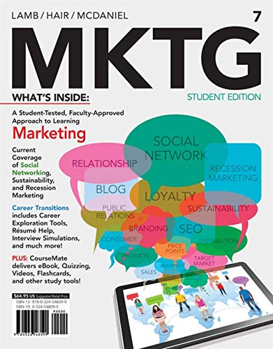 9781285091860: MKTG 7 (with CourseMate with Career Transitions Printed Access Card) (New, Engaging Titles from 4LTR Press)